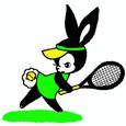 テニスうさちゃん