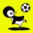 サッカーペンギンくん
